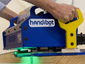 It's an App-driven power tool. It's a 3D Cutter. It's a Handibot Smart Power Tool!