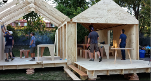 Putting up the Wikihouse